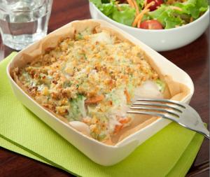recette gratin poisson brocoli et carottes